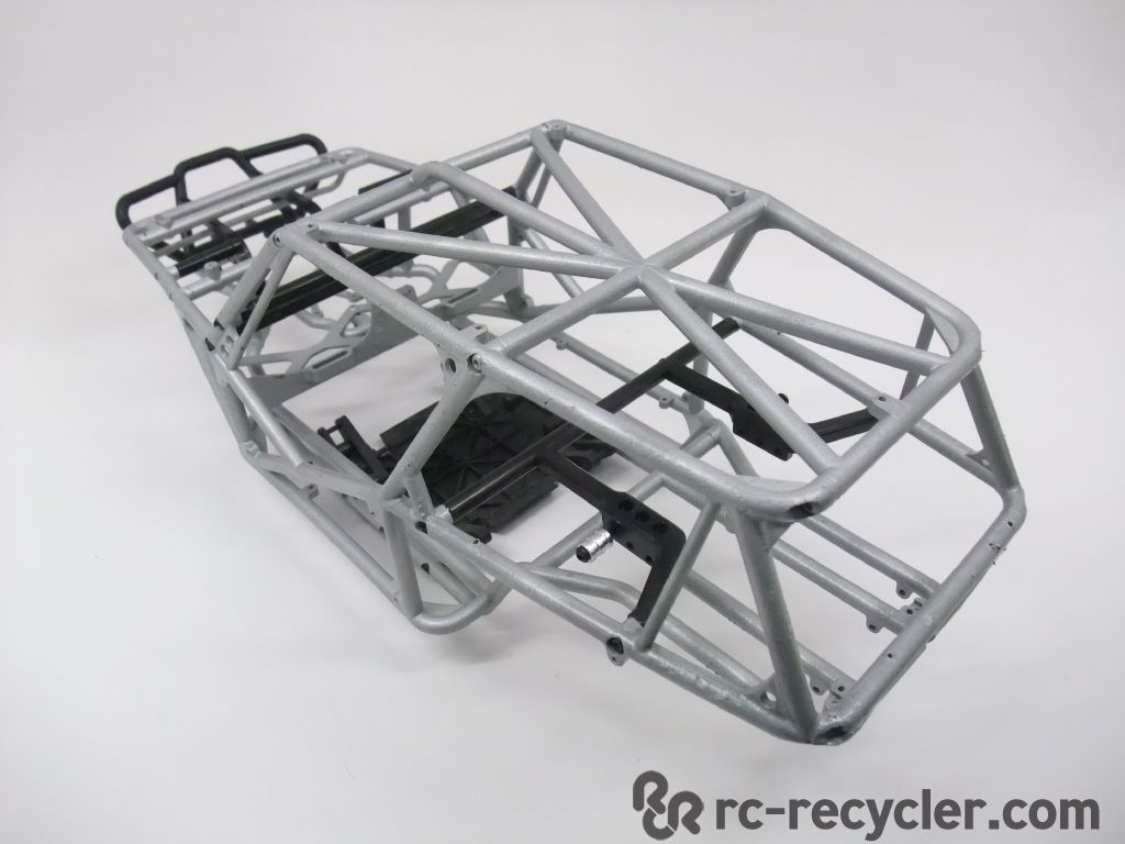 Axial wraith rock crawler racer roll cage chassis integy for Chassis aluminium