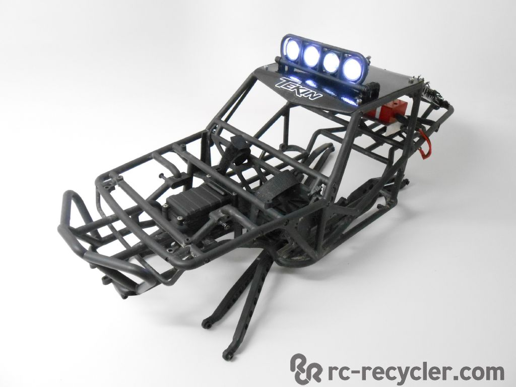 Axial Wraith Fastback Roll Cage Chassis W Pro Line Led