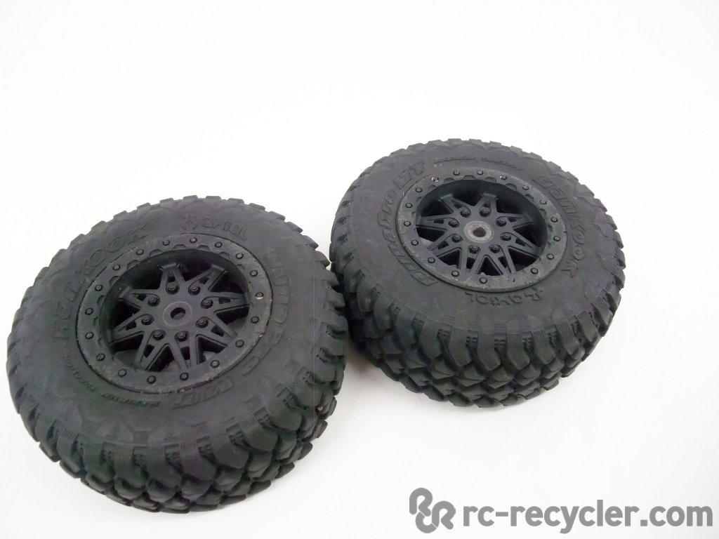 Axial Exo Tire : Axial hankook rear dynapro tires renegade wheels exo buggy